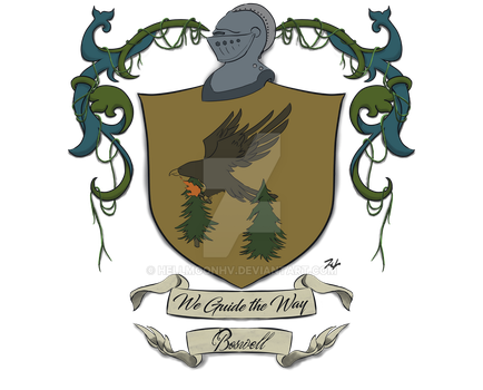 Commission Boswell Coat of Arms by ashenmoons