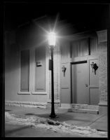 Door at Night by photozz