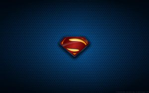 Wallpaper - Man Of Steel Suit Logo by Kalangozilla