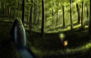 The Endless Forest by shadow-of-myself