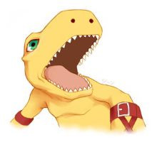 Agumon by stardroidjean