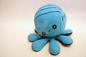 Octoplushie with a comb over by jaynedanger