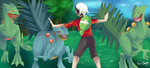 Jurassic Pokemon: Easy guys by TrainerShellz