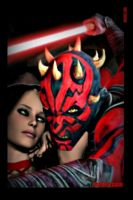 iPhone 4 Darth Maul's Woman by Eat-Sith