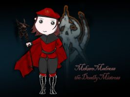 Me, the Deadly Mistress XD by MekareMadness