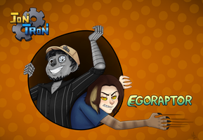 JonTron and Egoraptor by IndecisiveDork