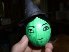 elphaba easter egg by toastles