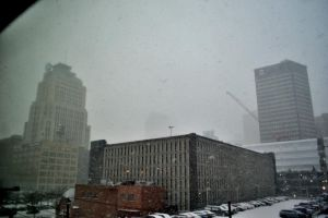 A WHITE XMAS IN CLEVELAND,OHIO by TomKilbane