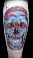 cool skull by tat2istcecil