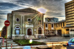 Gallery in Yambol city HDR by Th3R3v3nan7