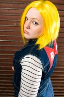 'R + R' - Android 18 (Ju-hachi Gou) Cosplay by OxfordCommaCosplay