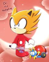 Ovi the Baby Hedgehog by ayamepso