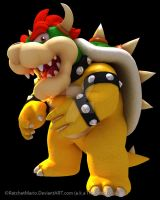 HD Bowser Render by RatchetMario