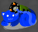 Nepeta grub by Cursed-cat