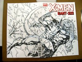 X-MEN SKETCH COVER by stalk