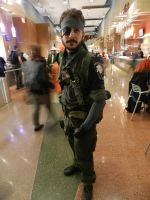 Phoenix Comicon 2014 Big Boss (4) by Demon-Lord-Cosplay