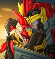 TFC-Hotshot/Override Fluff o.O by Autobot-Windracer