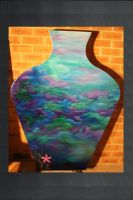 Giant Vase Unfinished by Michelle-Kowalczyk