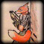 Another FallOut fox by JUSTinnator4