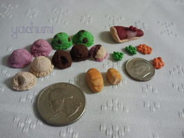 Miniature food update by yachumichan77