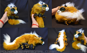 Newborn Butterscotch Drake Doll by Isvoc