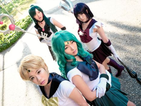 Sailor Moon: Outer Senshi by Love-of-Krye