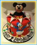 Disney Juniors Cake! by gertygetsgangster