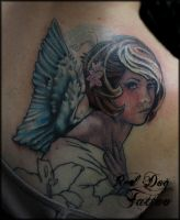 Charlies cover up on process by Reddogtattoo