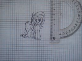 fluttershy-boredom in class 2 by beginerbrony