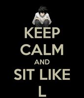 Sit like L by firenight617