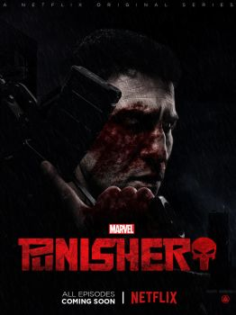 Marvel,Netflix - The Punisher (TV Poster) by ZaetaTheAstronaut