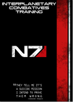 Mass Effect - N7 Poster by TheLadyAvatar
