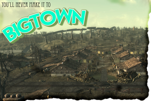Welcome to Big Town postcard by alphawolf0019