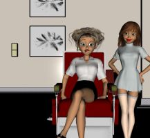 Dentist Chair 1 by Hypnovideo