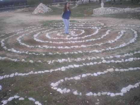 My friend in the ''labyrinth'' by icieprincess