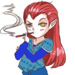 GAIA: chibi for Faustine Liem by QDoodle