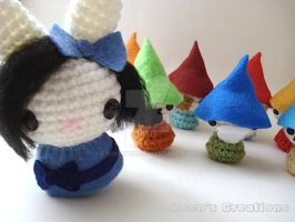 Snow White Moon Bun and the Seven Dwarves by MoonYen