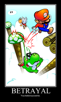 Super Mario World Betrayal by GGRock70