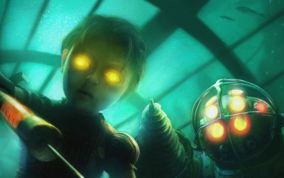 BioShock - He'll Be An Angel by PsychicAbyss88