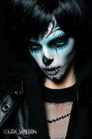 Iplehouse Chris BJD Goes Day of The Dead by PepstarsWorld