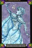 Frozen Tarot: The Hanged Man by nasubionna