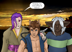 Heroes Journey by Jedni
