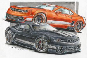 Camaro_100 and Camar'o'range by HorcikDesigns