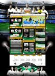 Real Madrid  Web Design by Hamdan-Graphics