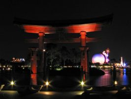 Epcot Japan Stock 2 by AreteStock