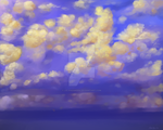 Clouds after Seegmiller and Parrish by LelandGreen