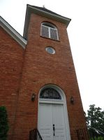 bostwick brick church tower by Luciferica