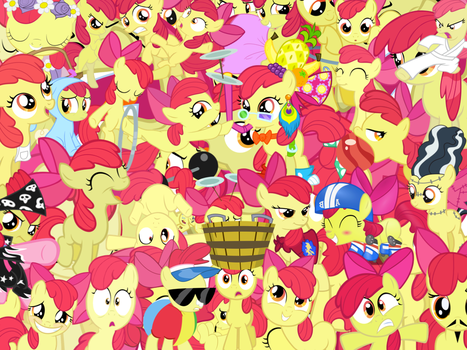 Too Much Applebloom by X-TURENT