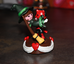 Devil Witch Topper by panicYoYo