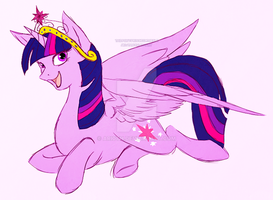 Princess Twilight Sparkle by Ari0TH